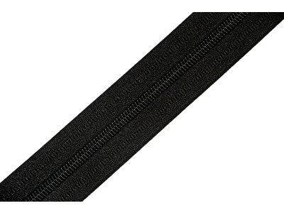 Endlosreißverschluss 3mm - schwarz