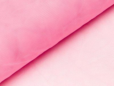 Tüll - uni rosa