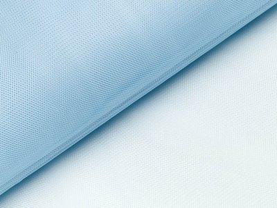 Tüll - uni helles blau