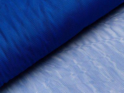 Tüll - uni dunkles blau