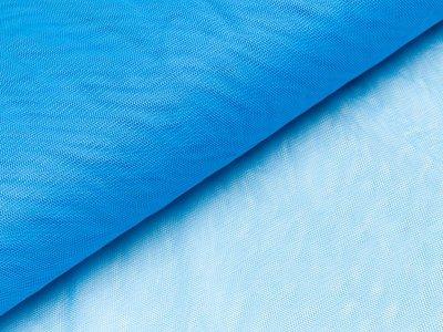 Tüll - uni blau
