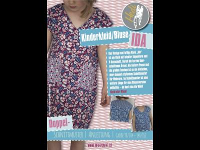 Papierschnittmuster Hedi - Kleid/Bluse Ida - Mädchen