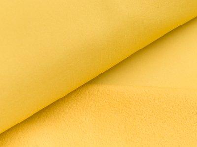 Jackenstoff Softshell - uni gelb