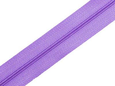 Endlosreißverschluss 3mm - lavendel
