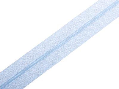 Endlosreißverschluss 3mm - babyblau