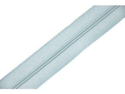 Endlosreißverschluss 3mm - blassblau