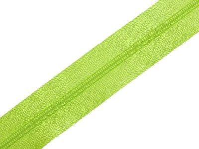 Endlosreißverschluss 3mm - hellgrün