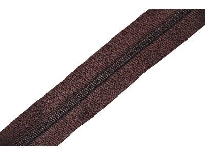 Endlosreißverschluss 3mm - dunkelbraun