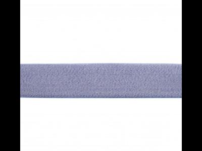 Gummiband weich ca. 40mm - meliert jeansblau