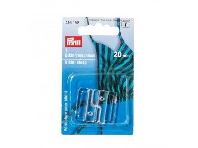Bikiniverschluss Prym 1Stk/20mm -  transparent