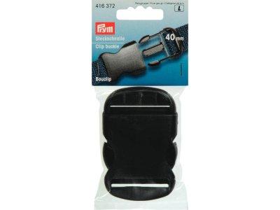 Prym Steckschnalle 40mm - schwarz
