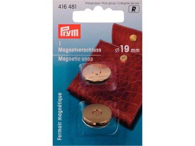 Prym Magnet-Verschluß 19mm - goldfarben