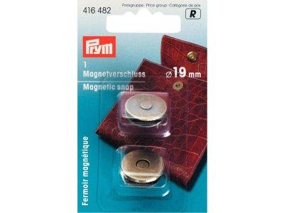 Prym Magnet-Verschluß 19mm - altgoldfarben