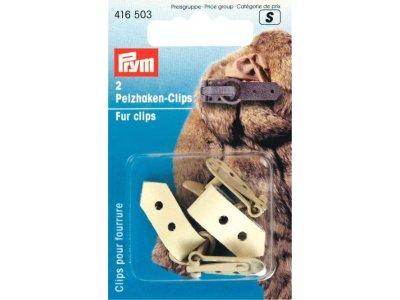 Prym Pelzhaken-Clips - beige