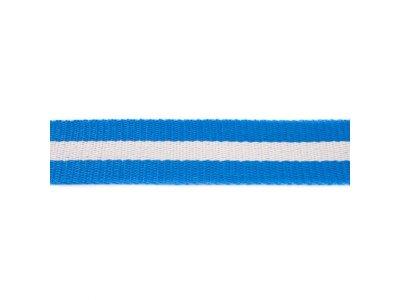 Gurtband ca. 40 mm - Streifen - royalblau