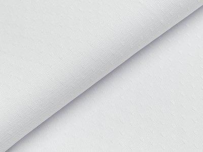 Tüll - Tropfen - weiß