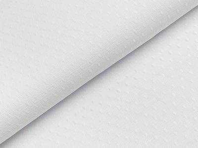 Tüll - Tropfen - altweiß