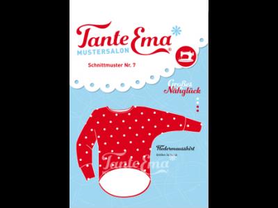 Papier-Schnittmuster Tante Ema - Fledermausshirt - Damen