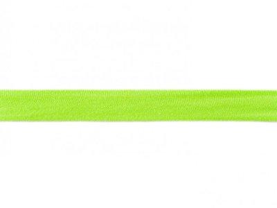 Jersey-Schrägband 20mm lime