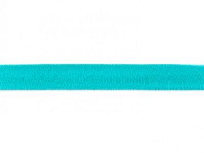 Jersey-Schrägband 20mm dunkelmint