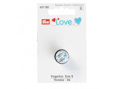 Fingerhut Gr. S Prym Love - weiß