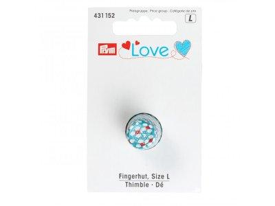 Fingerhut Gr. L Prym Love - türkis