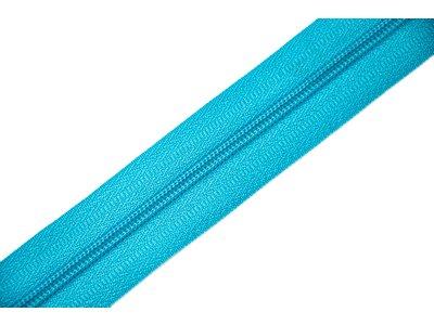 Endlosreißverschluss 3mm - hellblau