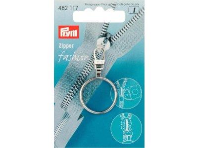 Prym Fashion-Zipper Ring - silberfarben