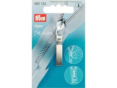 Prym Fashion-Zipper Classic - mattsilberfarben