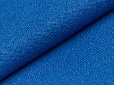 Viskose Leinen - uni jeansblau