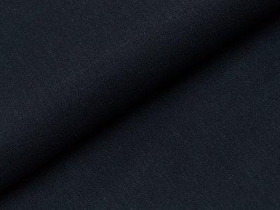 Viskose Leinen - uni nachtblau