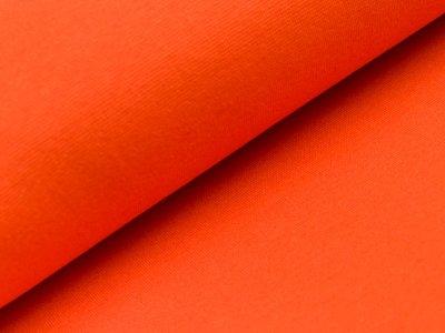 Glattes Bündchen im Schlauch orange