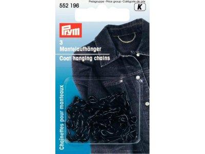 Prym 3 Mantelaufhänger - schwarz