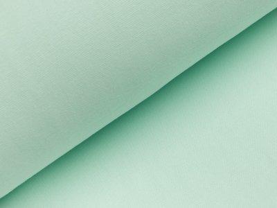 B-Ware Glattes Bündchen im Schlauch - uni pastellmint