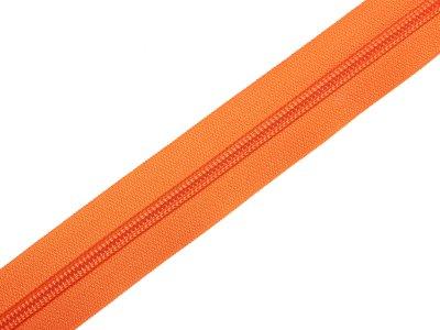 Endlosreißverschluss 5mm - orange