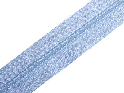 Endlosreißverschluss 5mm - himmelblau