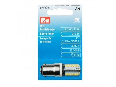 LED Lampe mit Bajonettverschluß für Nähmaschinen Prym