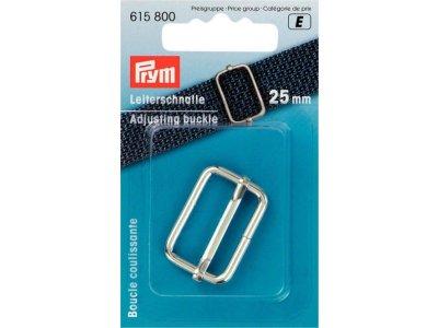 Prym Leiterschnalle Metall 25mm - silberfarben