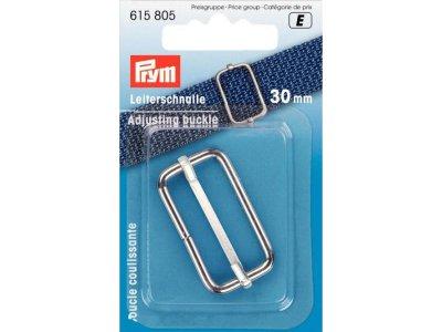 Prym Leiterschnalle Metall 30mm - silberfarben