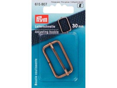 Prym Leiterschnalle Metall 30mm - altgoldfarben
