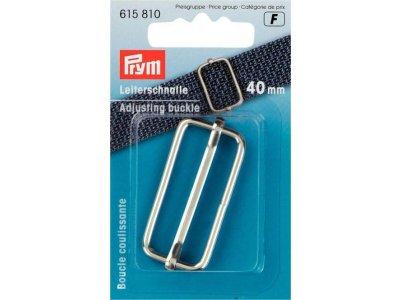 Prym Leiterschnalle Metall 40mm - silberfarben
