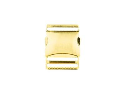 Steckschnalle Metall - 40mm - gold