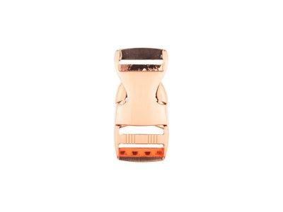 Steckschnalle Metall - 25 mm - rosegold