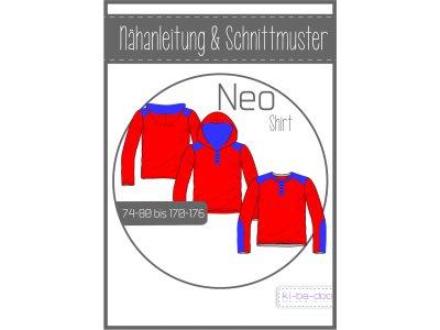 Papierschnittmuster ki-ba-doo Neo Shirt Jungen