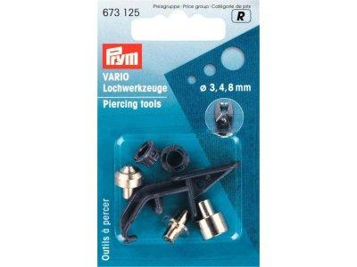Prym Lochwerkzeuge für Vario-Zange ST 3/4/8 mm