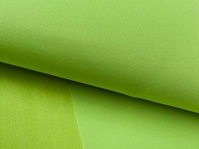 Jackenstoff Nano-Softshell apfelgrün