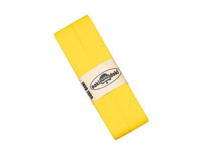 Jersey Schrägband Oaki doki gefalzt 20 mm x 3 m - gelb