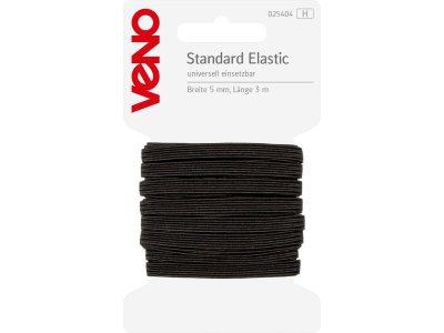 Standard Elastic SB 5mm x 3m - schwarz