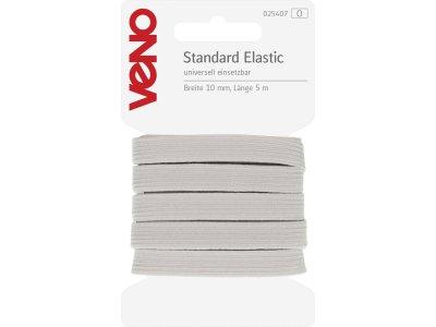 Standard Elastic SB 10mm x 5m Coupon - weiß