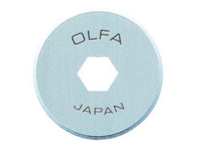 Ersatzklinge für Rollschneider OLFA 18 mm/2 Stück